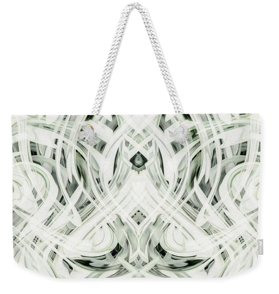 Abstract - Mysterium Weekender Tote Bag