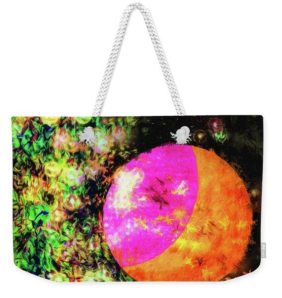 Abstract - Nebulae Weekender Tote Bag
