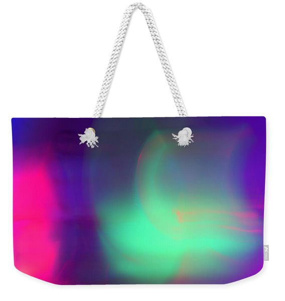Abstract No. 1 Weekender Tote Bag