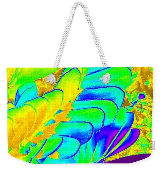 Abstract Plant Weekender Tote Bag