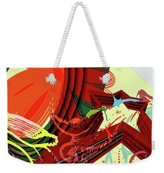 Abstract Rhetoric Weekender Tote Bag
