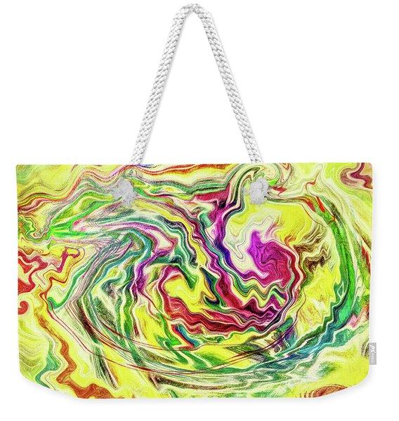 Abstract - Ripple Effect Weekender Tote Bag