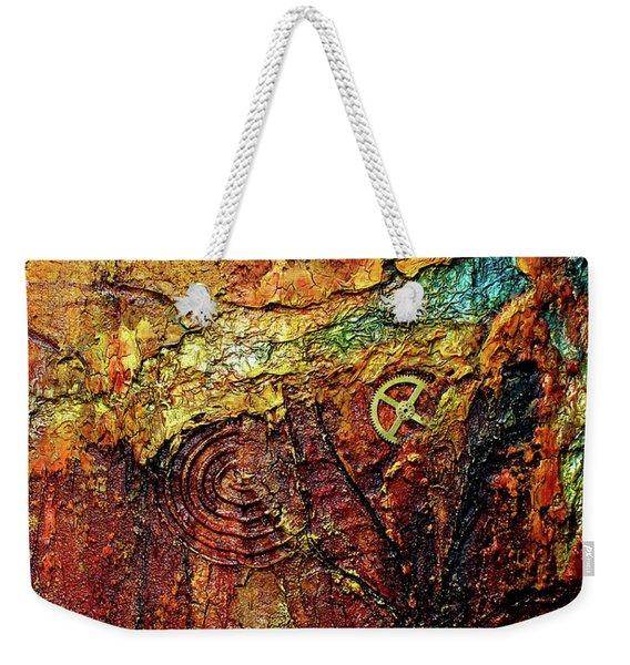 Abstract Rock 2 Weekender Tote Bag