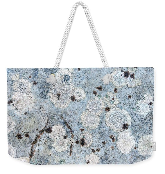Abstract Rock Moon Walk Weekender Tote Bag