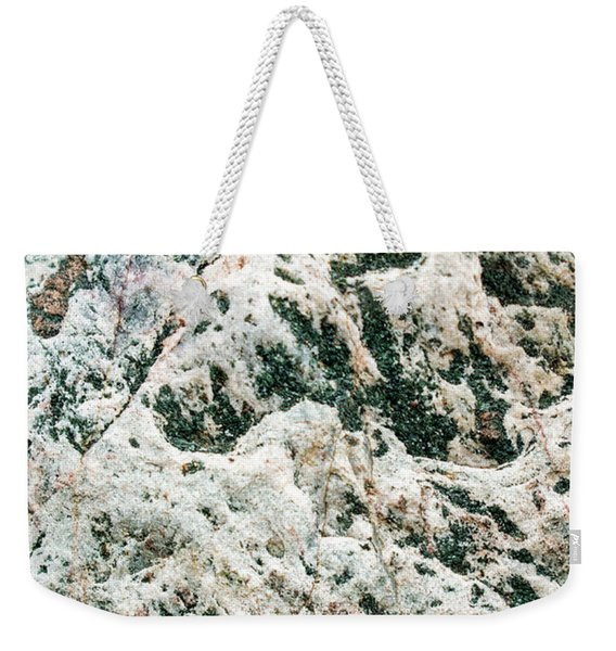 Abstract Rock Mountain Range Weekender Tote Bag