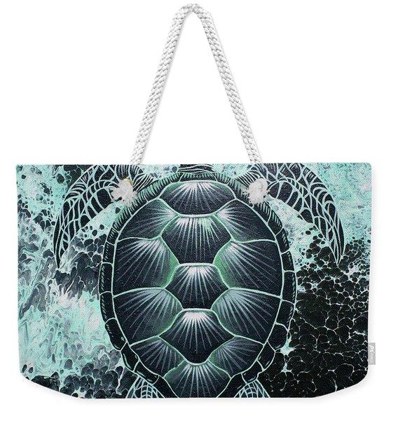 Abstract Sea Turtle Weekender Tote Bag