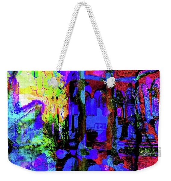 Abstract Series 0177 Weekender Tote Bag