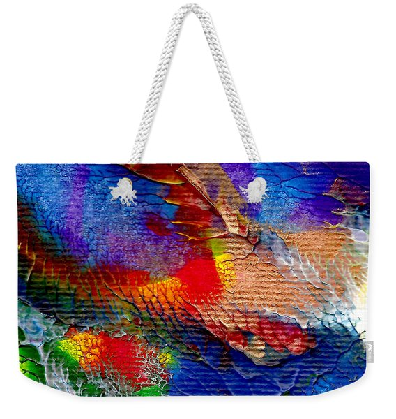 Abstract Series 0615a-5 Weekender Tote Bag