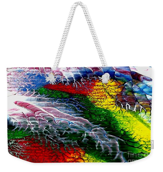 Abstract Series 0615a Weekender Tote Bag