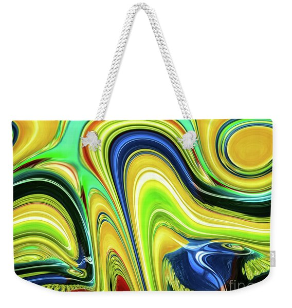 Abstract Series 153240 Weekender Tote Bag