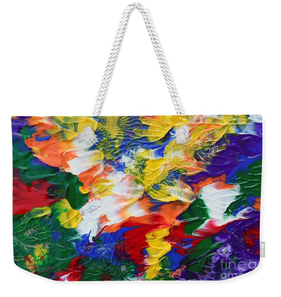 Abstract Series A1015ap Weekender Tote Bag
