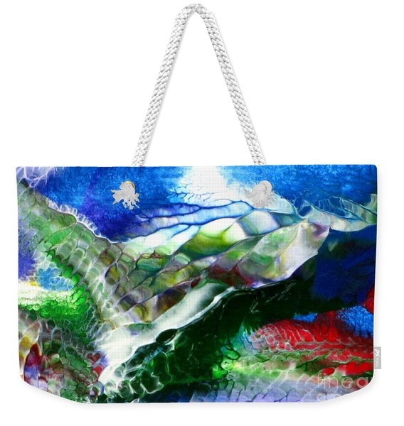 Abstract Series B Weekender Tote Bag