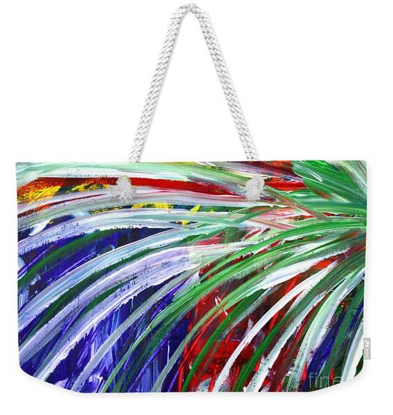 Abstract Series C1015bl Weekender Tote Bag