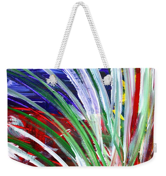 Abstract Series C1015bp Weekender Tote Bag