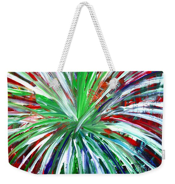 Abstract Series C1015dl Weekender Tote Bag