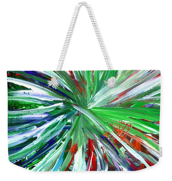 Abstract Series C1015dp Weekender Tote Bag