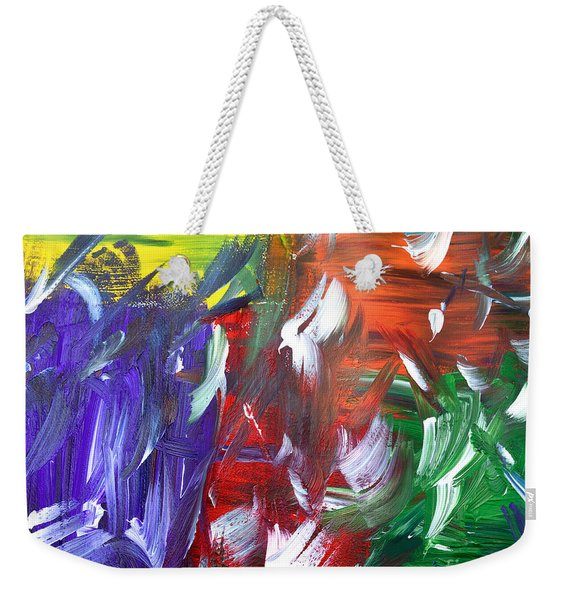 Abstract Series E1015al Weekender Tote Bag
