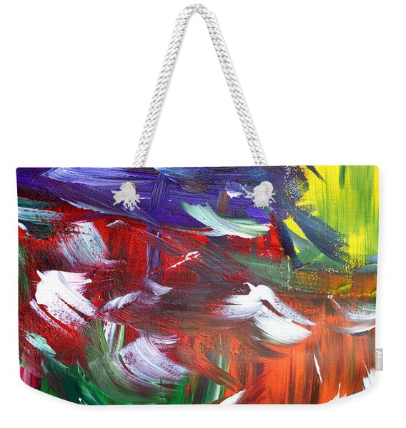 Abstract Series E1015ap Weekender Tote Bag