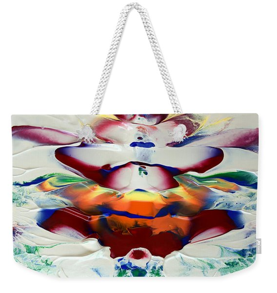 Abstract Series H1015al Weekender Tote Bag