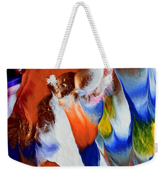 Abstract Series N1015bp Copy Weekender Tote Bag