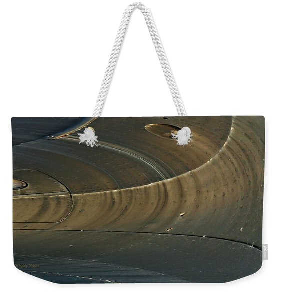 Abstract Ship Hull Weekender Tote Bag