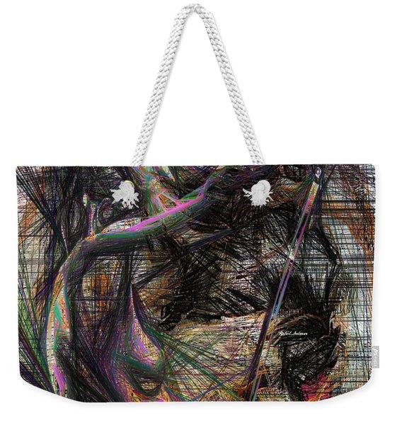 Abstract Sketch 1334 Weekender Tote Bag