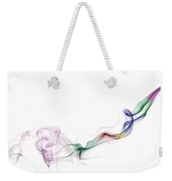 Abstract Smoke Weekender Tote Bag