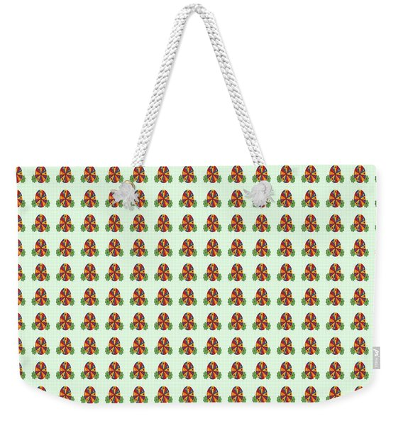 Abstract Square 118 Weekender Tote Bag