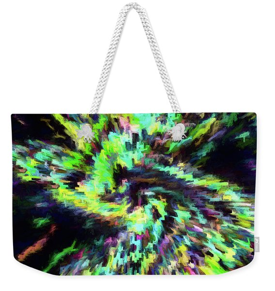 Abstract - Supernova Weekender Tote Bag