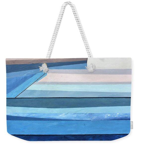 Abstract Swimming Pool Weekender Tote Bag