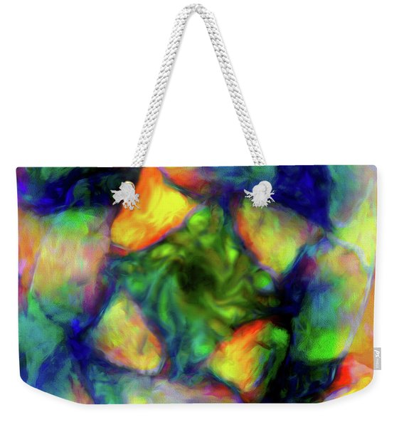 Abstract - Tourbillion Weekender Tote Bag