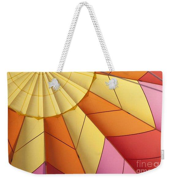 Abstract View Of Hot Air Balloon Weekender Tote Bag