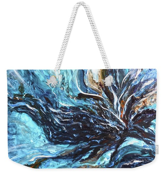 Abstract Water Dragon Weekender Tote Bag