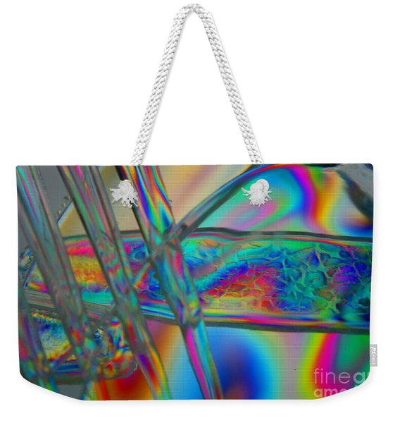 Abstraction In Color 2 Weekender Tote Bag