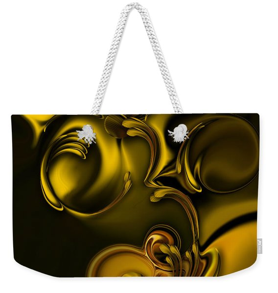 Abstraction With Meditation Weekender Tote Bag