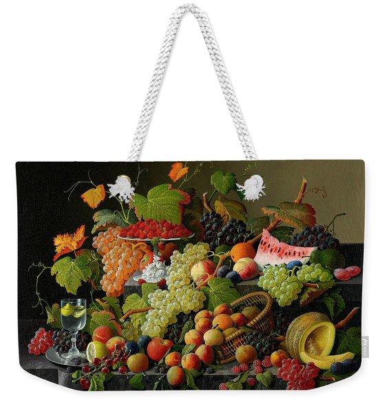 Abundant Fruit, 1858 Weekender Tote Bag