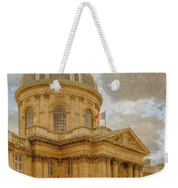 Paris, France - Academie Francaise Weekender Tote Bag