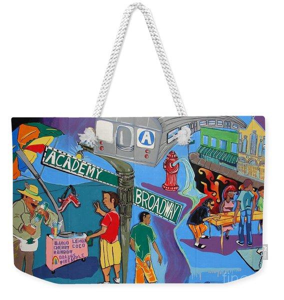 Academy And Broadway Weekender Tote Bag