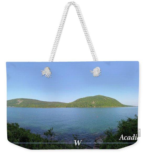 Acadia Somes Sound Weekender Tote Bag