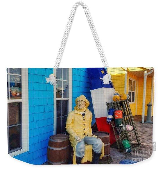 Acadian Fisherman, Prince Edward Island, Canada Weekender Tote Bag