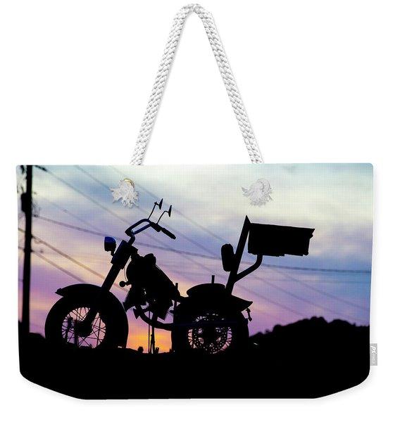 Accidental Beauty Weekender Tote Bag