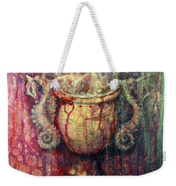 Ace Of Cups Weekender Tote Bag