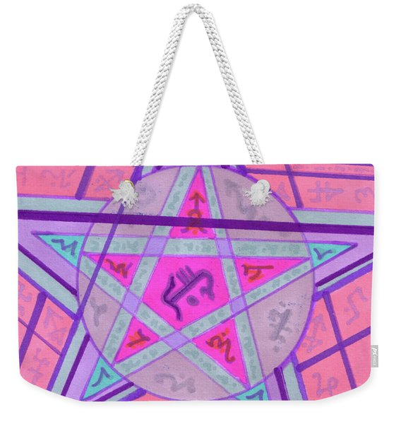 Ace Of Solomon Weekender Tote Bag
