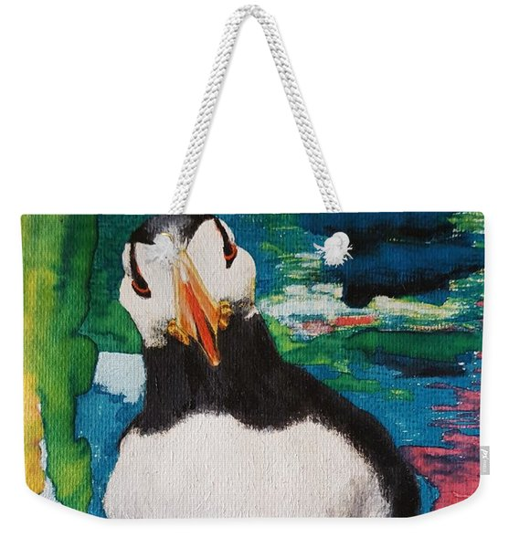 Ace   Puffin Huff Weekender Tote Bag