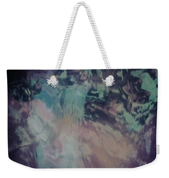 Acid Wash Weekender Tote Bag