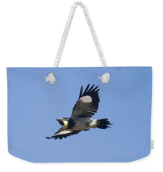 Acorn Woodpecker Weekender Tote Bag