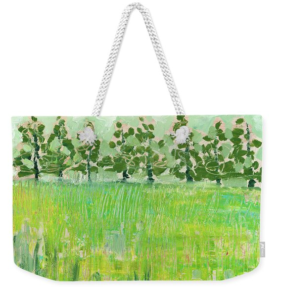 Across The Meadow Weekender Tote Bag