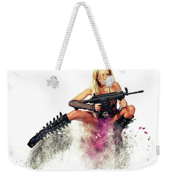 Action Girl Weekender Tote Bag