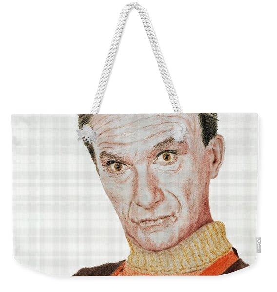 Actor Jonathan Harris As Dr Smith From Lost In Space Weekender Tote Bag