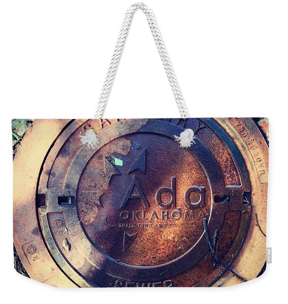 Ada Circle Weekender Tote Bag